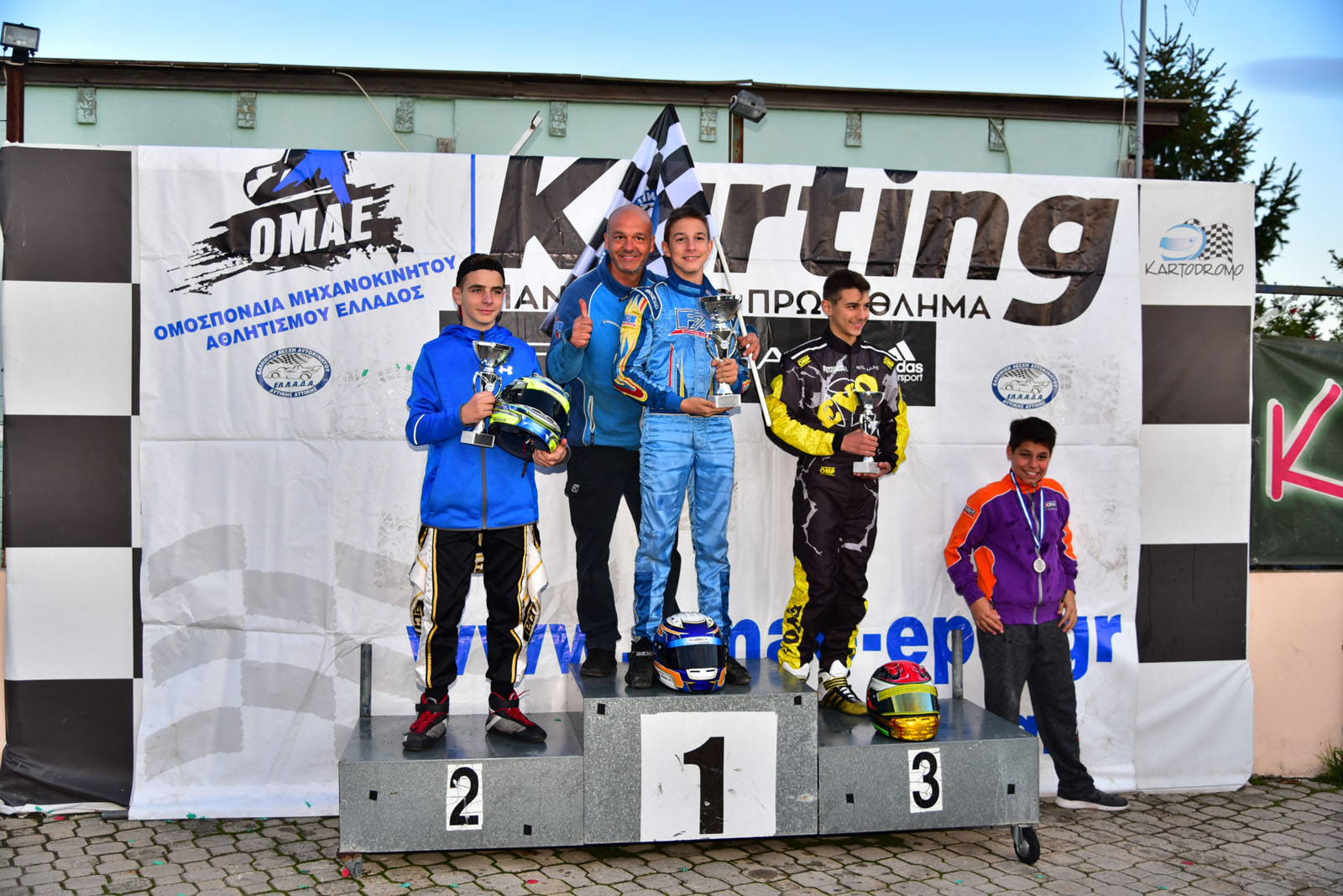 2017 PK 5 Afidnes Junior Podium